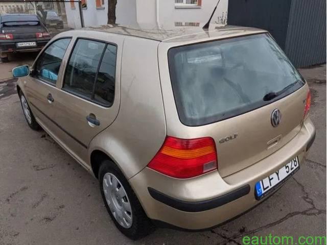 Volkswagen Golf IV(4), 1.9 TDI(ALH), 66 kw, автомат - 9