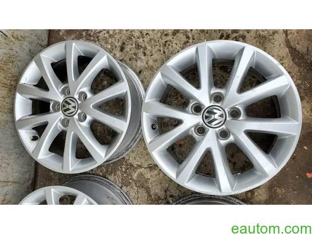 44* Продам ориг диски Volkswagen R16 5x112 Jetta Touran Caddy Passat - 1