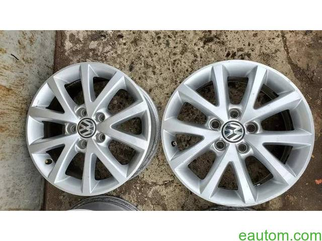 44* Продам ориг диски Volkswagen R16 5x112 Jetta Touran Caddy Passat - 2