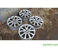 44* Продам ориг диски Volkswagen R16 5x112 Jetta Touran Caddy Passat - Фото 3