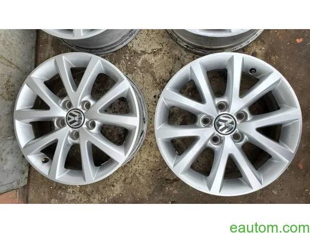 44* Продам ориг диски Volkswagen R16 5x112 Jetta Touran Caddy Passat - 4