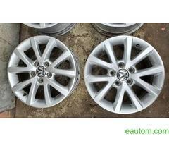44* Продам ориг диски Volkswagen R16 5x112 Jetta Touran Caddy Passat - Фото 4