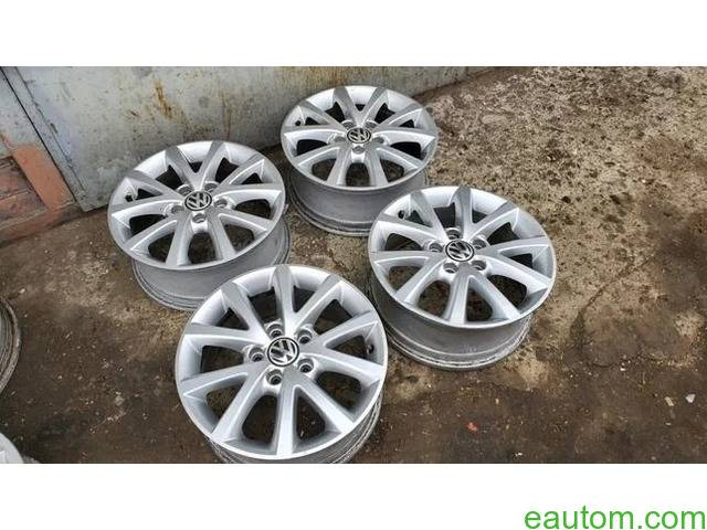 44* Продам ориг диски Volkswagen R16 5x112 Jetta Touran Caddy Passat - 5