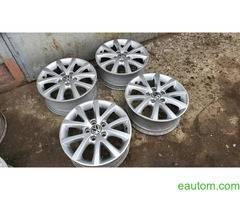 44* Продам ориг диски Volkswagen R16 5x112 Jetta Touran Caddy Passat - Фото 5