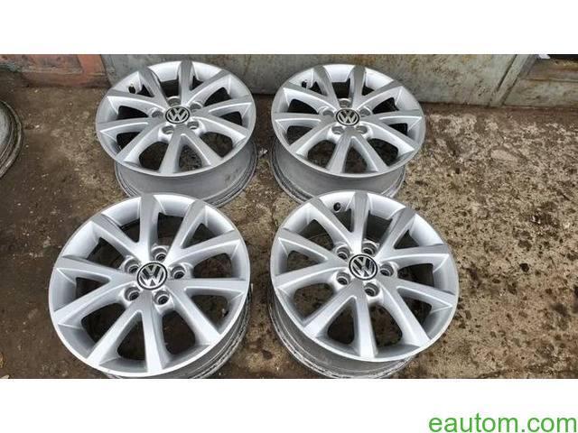 44* Продам ориг диски Volkswagen R16 5x112 Jetta Touran Caddy Passat - 8