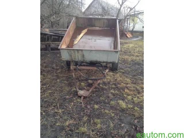 Продам прицеп к трактору - 1