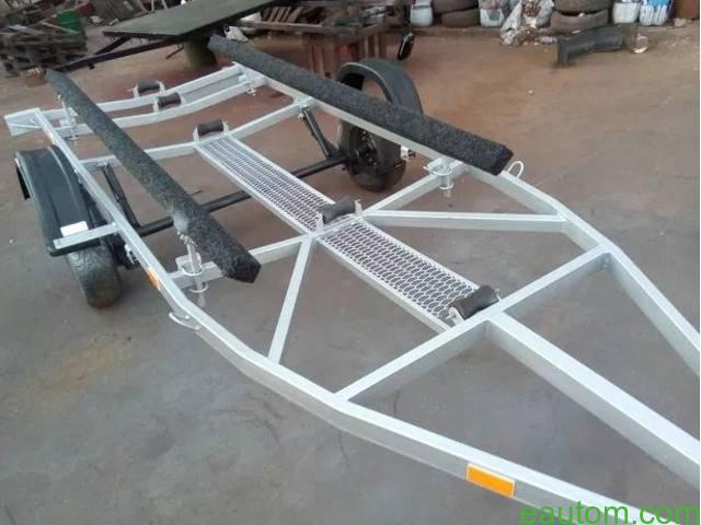 Продам лафет для перевозки лодки - 6