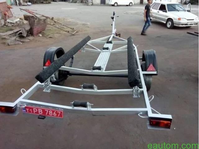 Продам лафет для перевозки лодки - 9