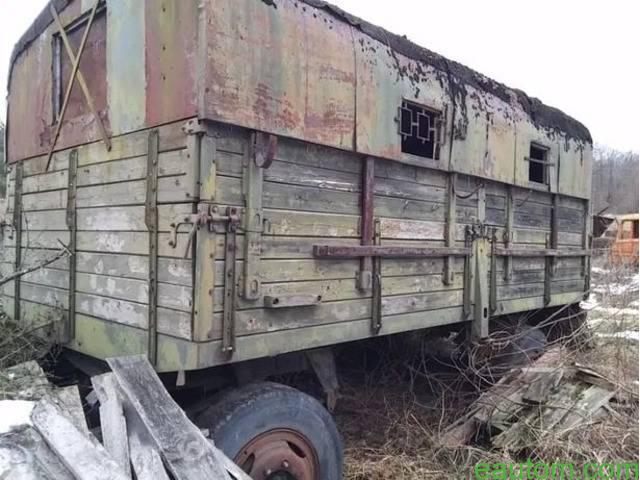 Продам ПРИЦЕП-КУНГ на базе ЗИЛ - 5