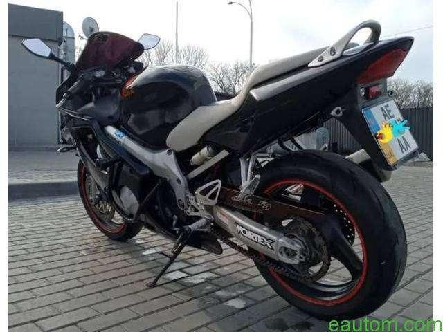 Honda CBR600F4-2000 на учете - 2