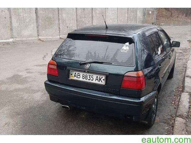 Volkswagen Golf III 1995 года - 3