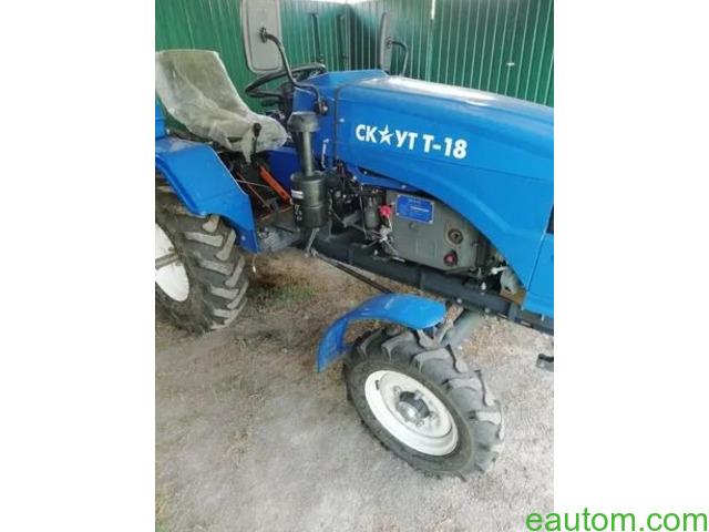 Продам мини трактор скаут т 18 - 1