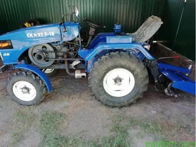Продам мини трактор скаут т 18 - 8