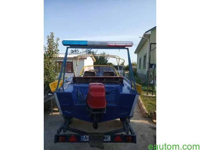 Продам лодку Дніпро з лафетом, мотором !! - 3