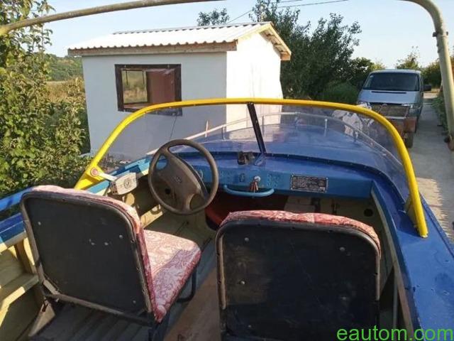 Продам лодку Дніпро з лафетом, мотором !! - 4