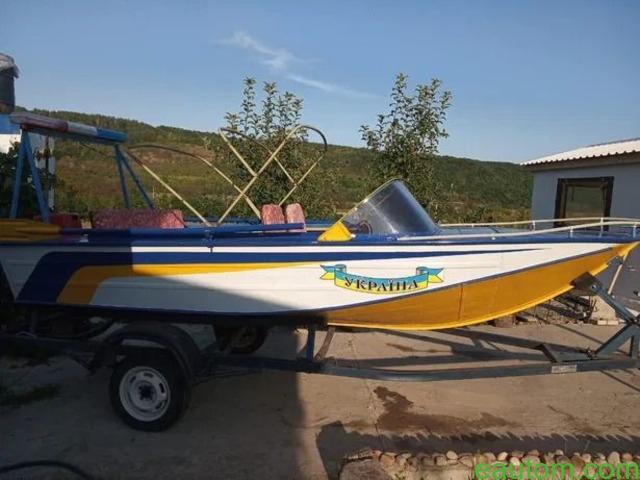 Продам лодку Дніпро з лафетом, мотором !! - 6