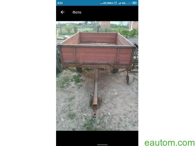 Продам причеп для трактора 18 - 24 кс - 1