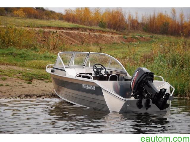 Алюминиевая лодка windboat 42МЕ - 1