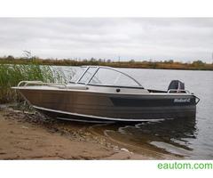 Алюминиевая лодка windboat 42МЕ - Фото 2