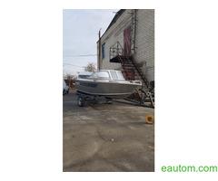 Алюминиевая лодка windboat 42МЕ - Фото 4