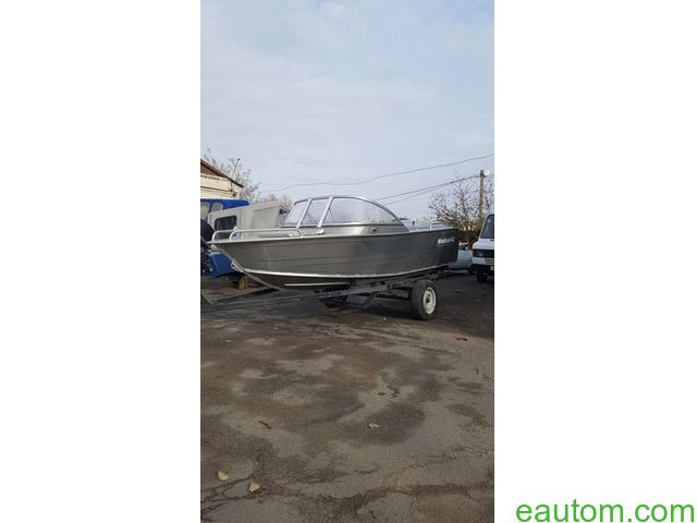 Алюминиевая лодка windboat 42МЕ - 5