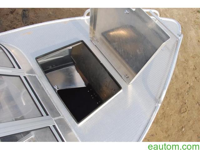 Алюминиевая лодка windboat 42МЕ - 6