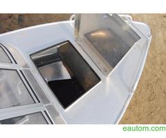 Алюминиевая лодка windboat 42МЕ - Фото 6