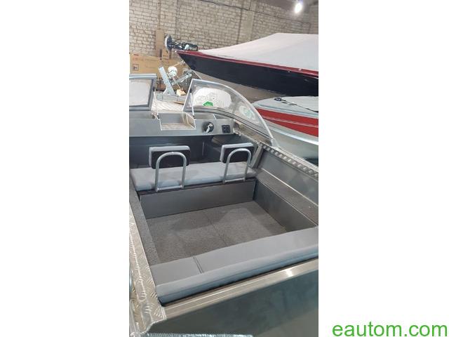 Алюминиевая лодка windboat 42МЕ - 8