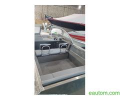 Алюминиевая лодка windboat 42МЕ - Фото 8