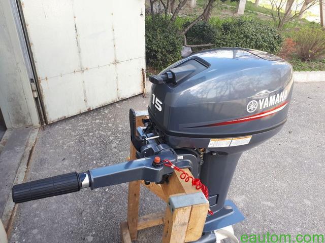 Продам мотор Yamaha 15 л.с. 2х тактный + лодка в подарок - 3