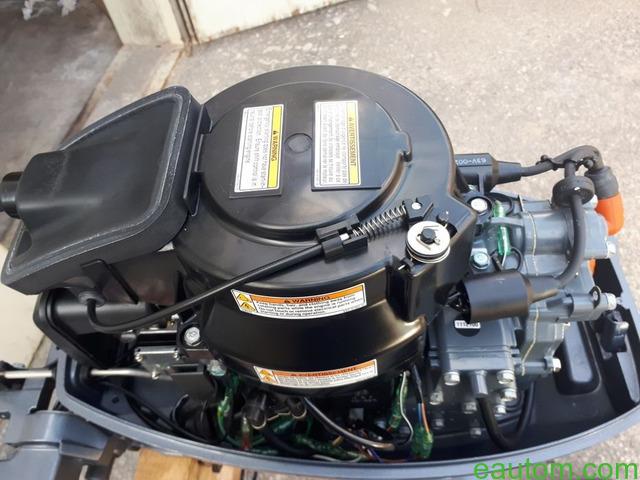 Продам мотор Yamaha 15 л.с. 2х тактный + лодка в подарок - 10
