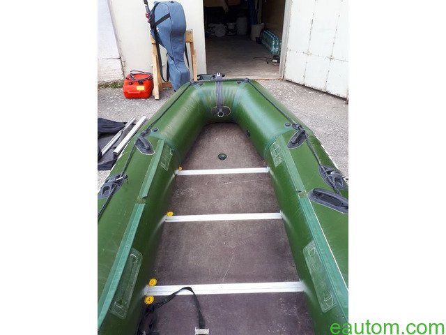 Продам мотор Yamaha 15 л.с. 2х тактный + лодка в подарок - 14