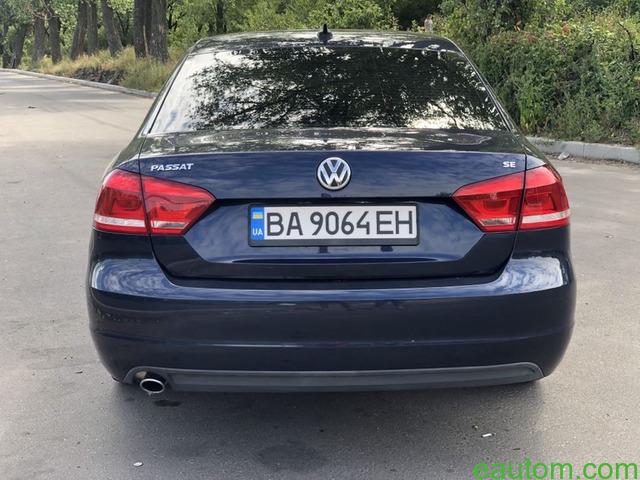 Volkswagen Passat B7 USA 2.5 SE gaz 4 - 4