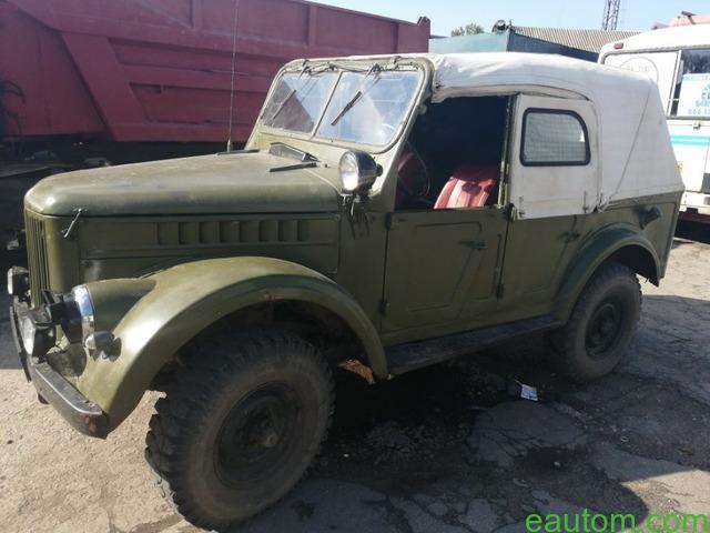 ГАЗ 69 А - 6